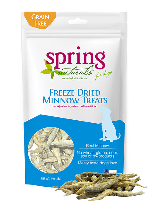 Freeze-Dried Minnow Dog Treats