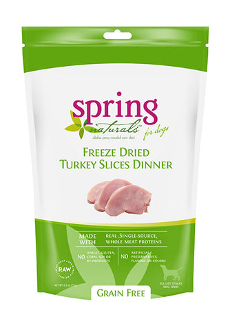 Grain Free Freeze-Dried Turkey Slices Dinner