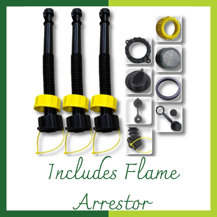 Includes Flame Arrestor
