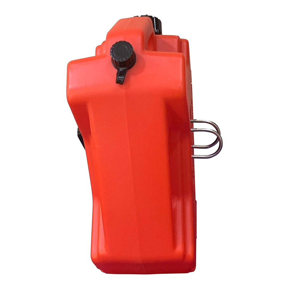 Gas Can with Car Mount & Can Spout Replacement (5 L)