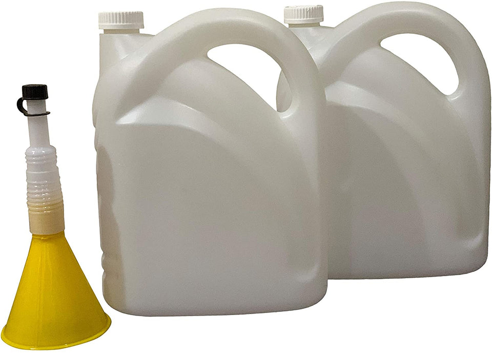 2 Pack - 5 Liter/1.32 Gallon Water Bottle