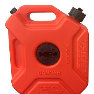 1.3 Gallon Gas Can and One Gas Can Spout Replacement (5 L) With Accessories - KOOLPRODUCTS