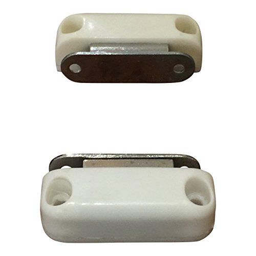 Super Strong, High Magnetic Catch (2 Pk) - White