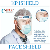 KP iSafe (TM) Face Shield