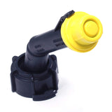 KP36 - 10 Pack Replacement Yellow Spout Cap Top for Blitz Fuel Gas Can