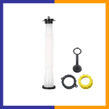 (Retail 1 Pack) Spout Replacement with Gasket, Stopper, Cap with Stripe, 2 Collar Caps