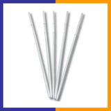 "Pack of 100 Skewers 8.66"" Inch with Ribs, Premium Cocktail Picks - Barbecue Stick"