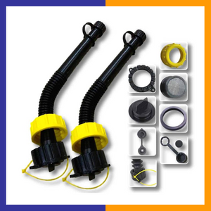 "Super Long 11"" Flexible With Spouts & Accessories - KOOLPRODUCTS"