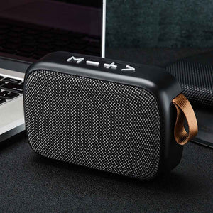 Mini Portable Tablet Stereo Sound Home Office Bluetooth Speaker Laptop Smartphone Surround TF Card Rechargeable FM Wireless