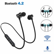 Load image into Gallery viewer, Wireless Bluetooth Earphone XT11 Music Headset Phone Neckband Sport Earbuds Earphone With Mic For IPhone For Samsung