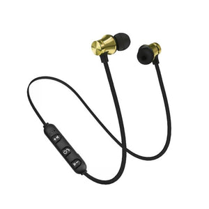 Wireless Bluetooth Earphone XT11 Music Headset Phone Neckband Sport Earbuds Earphone With Mic For IPhone For Samsung
