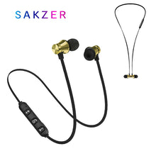 Load image into Gallery viewer, Bluetooth Earphone Wireless Sport Headphone Magnet Earbuds With Microphone Stereo Bluetooth Earpiece for Phone