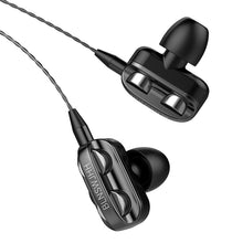 Load image into Gallery viewer, New Sports Dual Drivers 4 Units Heavy Bass HiFi In-ear Wired Earphones Headphones