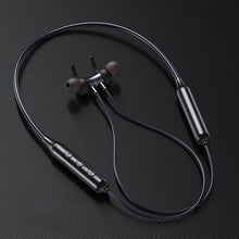 Load image into Gallery viewer, Swalle Bluetooth 5.0 Wireless Sports earphone Stereo Subwoofer Hanging Neck Hanging Metal Magnetic Bluetooth Headphone