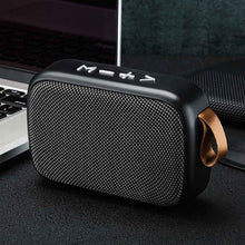 Load image into Gallery viewer, Stereo Sound Smartphone Tablet Mini Portable TF Card Home Bluetooth Speaker Rechargeable Office Surround Outdoor FM Wireless