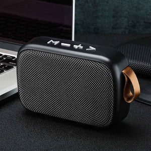 Stereo Sound Smartphone Tablet Mini Portable TF Card Home Bluetooth Speaker Rechargeable Office Surround Outdoor FM Wireless