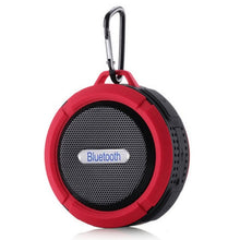 Load image into Gallery viewer, Waterproof Outdoor Wireless Bluetooth Speaker Hands-Free with Mic & Suction Cup & Hook Portable Shower Bath Stereo Music Player