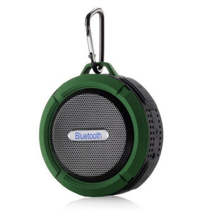 Waterproof Outdoor Wireless Bluetooth Speaker Hands-Free with Mic & Suction Cup & Hook Portable Shower Bath Stereo Music Player