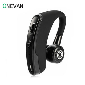 V9 Handsfree Wireless Bluetooth Earphones Noise Control Business Wireless Headset with Mic for Driver Sport iPhone Smartphones