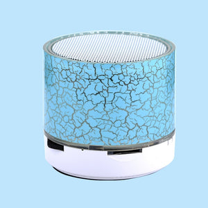 POYATU LED Mini Wireless Bluetooth Speaker TF USB Radio Portable Sound Box Musical Subwoofer Loudspeakers For Phone PC