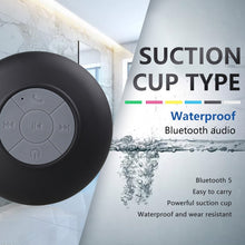 Load image into Gallery viewer, Waterproof Wireless Bluetooth Speaker Portable Mini Speaker Shower Suction Cup Anti-drop Bathroom Bathing Child Small Speaker