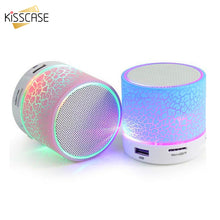 Load image into Gallery viewer, Bluetooth Speaker Mini Wireless Loudspeaker Crack LED TF Card USB Subwoofer Portable MP3 Music Sound Column for PC Mobile Phone