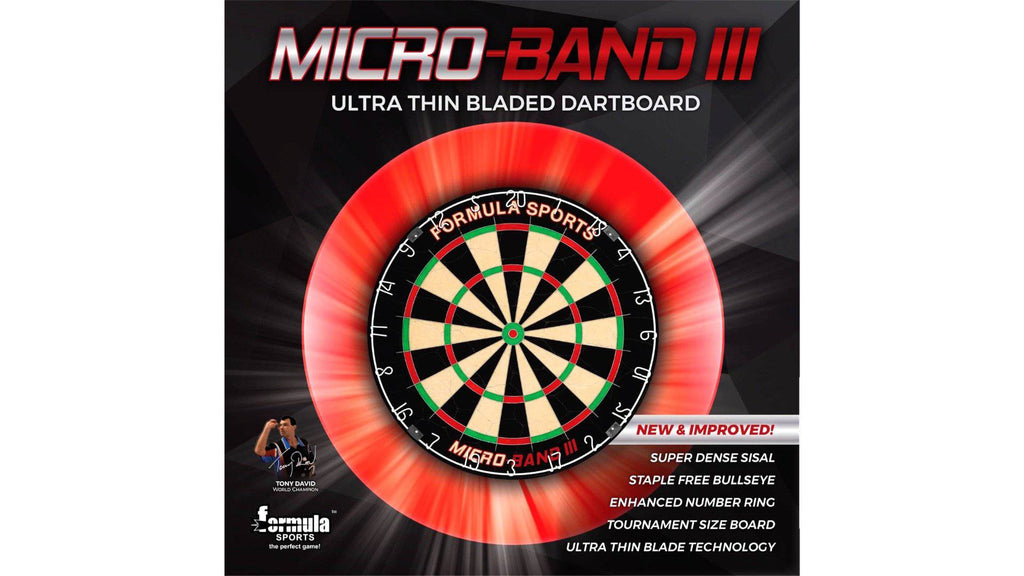 Formula Micro Band 3 Dartboard Darts Direct
