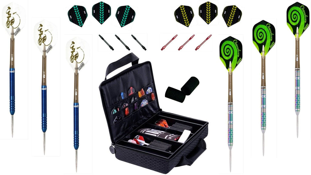 One80 Ice Dragon - Chameleon Darts Pack - Darts Direct