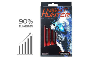 One80 Night Hunter Attack Quality Tungsten Darts Free Delivery Australia Buy Online Darts Direct Gift Box Packaging 90% Tungsten Darts