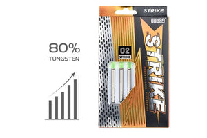 One80 Strike Darts Tungsten Free Delivery Australia Darts Direct Buy Online Green Box