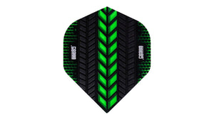 One80 Axis Flights (Green) - Darts Direct