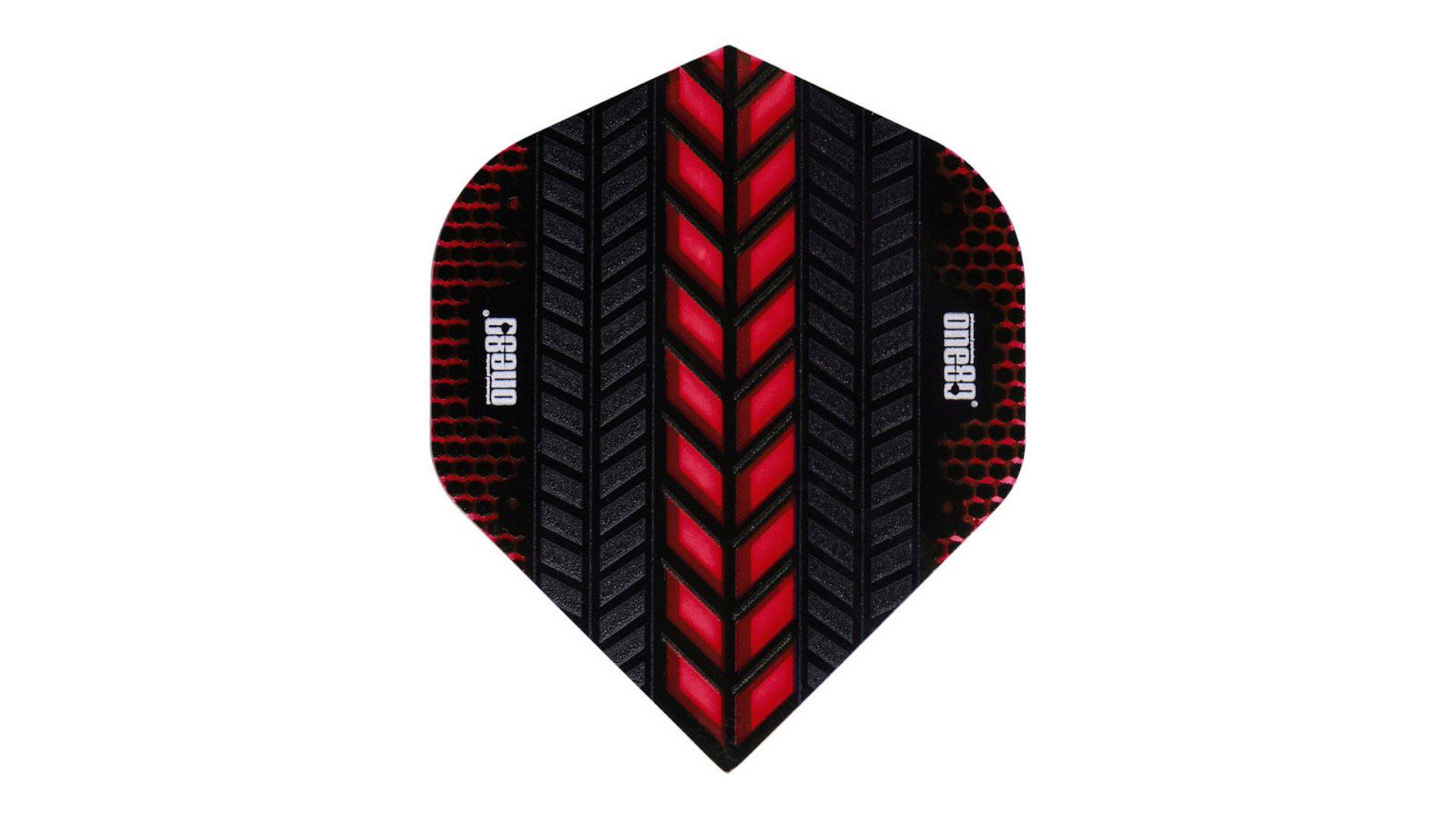 One80 Axis Flights (Red) - Darts Direct