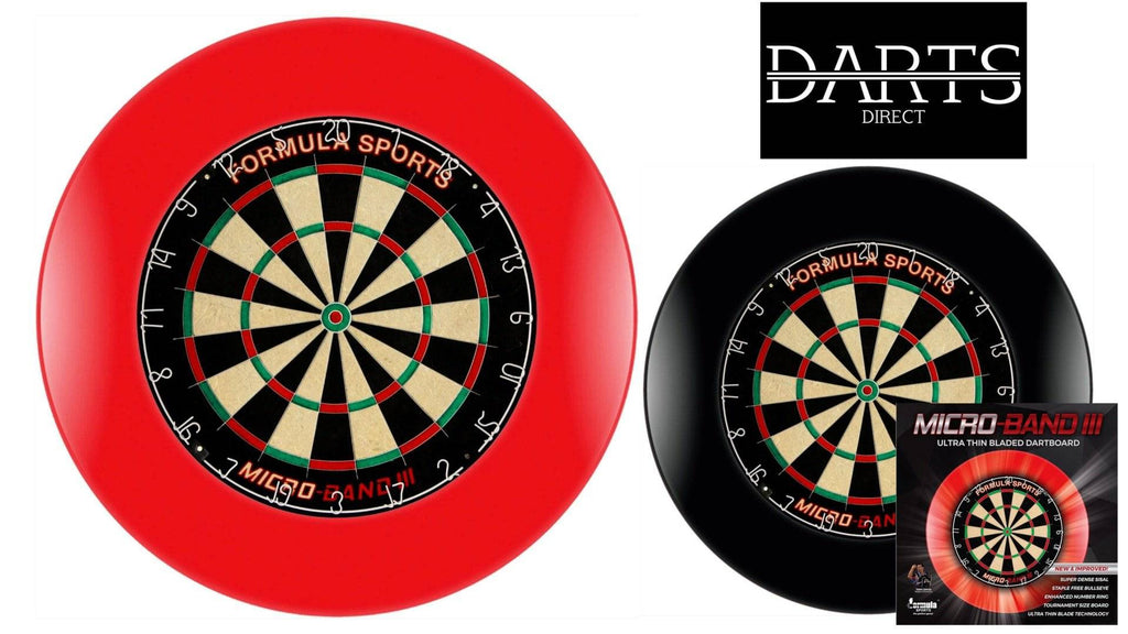 FORMULA Micro Band 3 Dartboard & Surround | Darts Direct