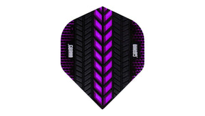 One80 Axis Flights (Purple) - Darts Direct
