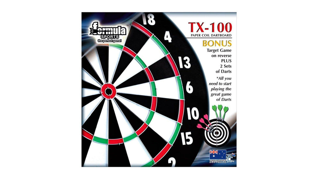 Formula Sports TX100 Compressed Paper Dartboard - Darts Direct