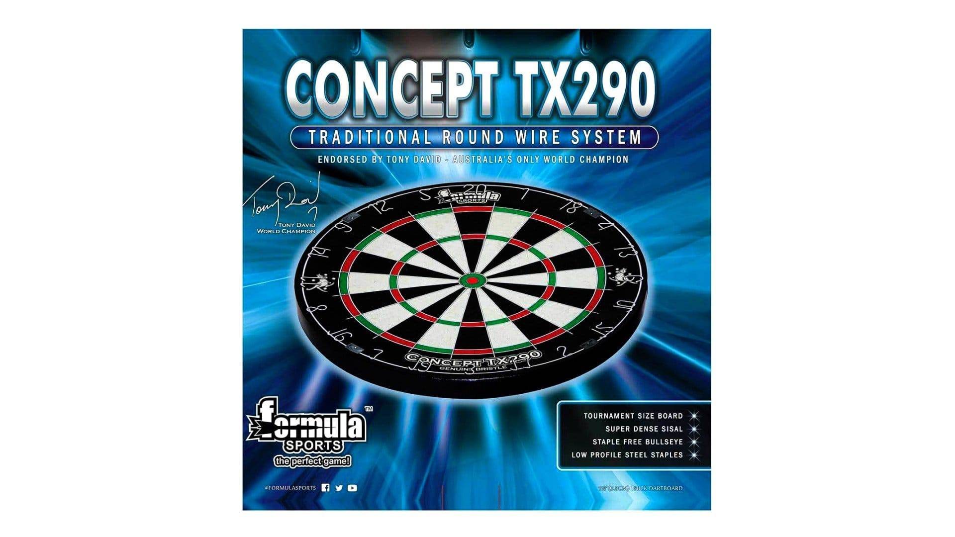 Formula TX290 Round Wire Bristle Dartboard - Darts Direct
