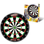 ONE80 Aluminium Cabinet (BLACK), Dartboard & 6 Darts - Darts Direct