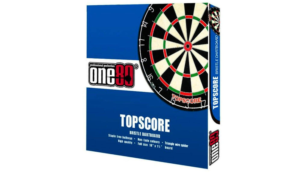 ONE80 DARTBOARD TOPSCORE - Darts Direct