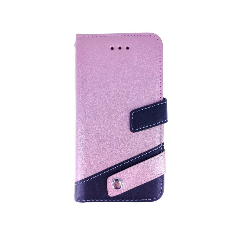 iPhone 7/8 Libro Denon Rose Tarjetero,Billetero