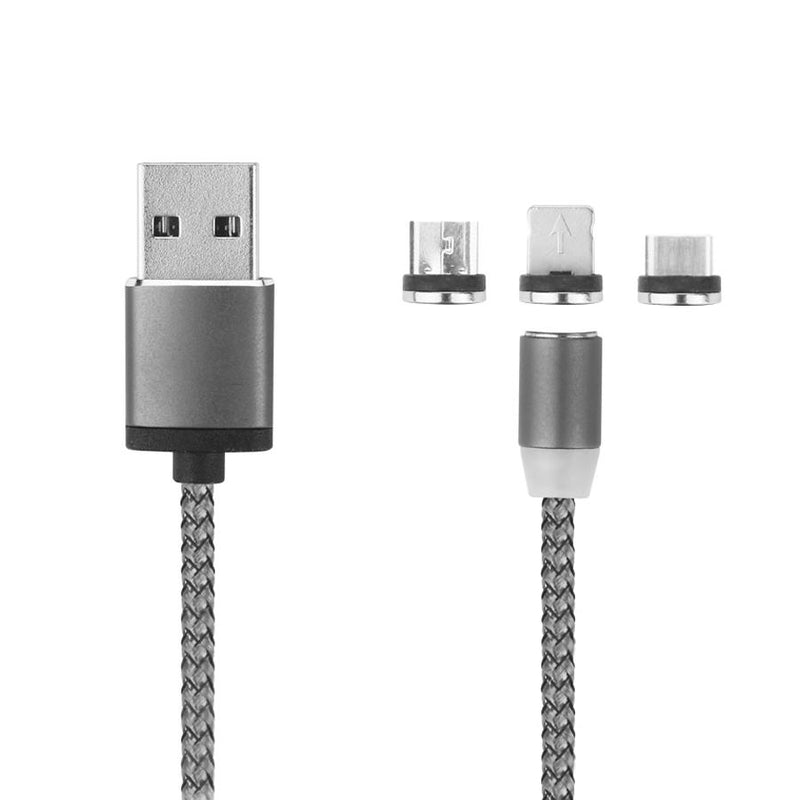 Cable Magnetico 3 en 1 X-Cable Metal - Onlinemyphone