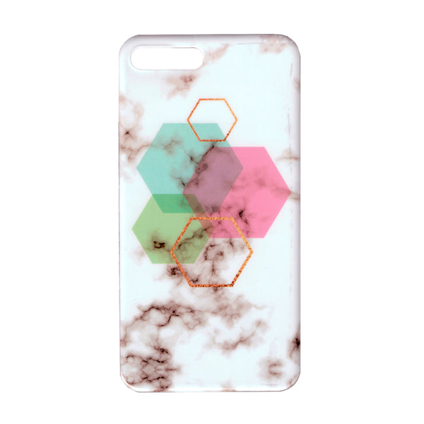 iPhone 7/8 PLUS  Hexagon Marble