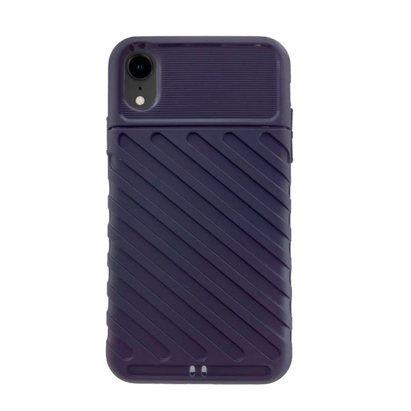 Funda Gel Rayado iPhone XR