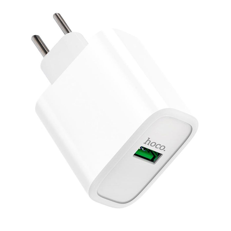 Cargador Tipo C 22,5W Quick Charge Qualcomm 3.0 HOCO C69
