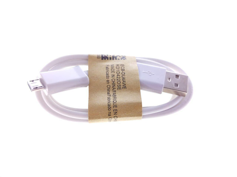 Cable Micro USB 1 metro Blanco