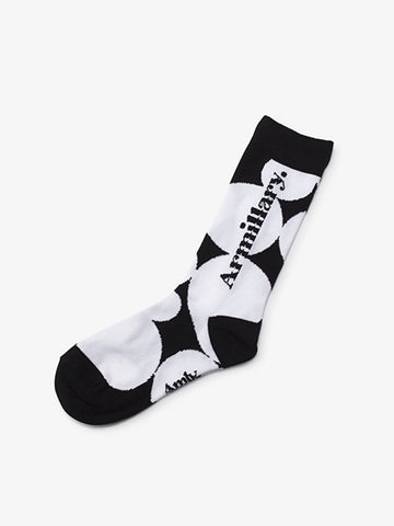 Armillary. LOGO SHORT SOCKS B-TYPE