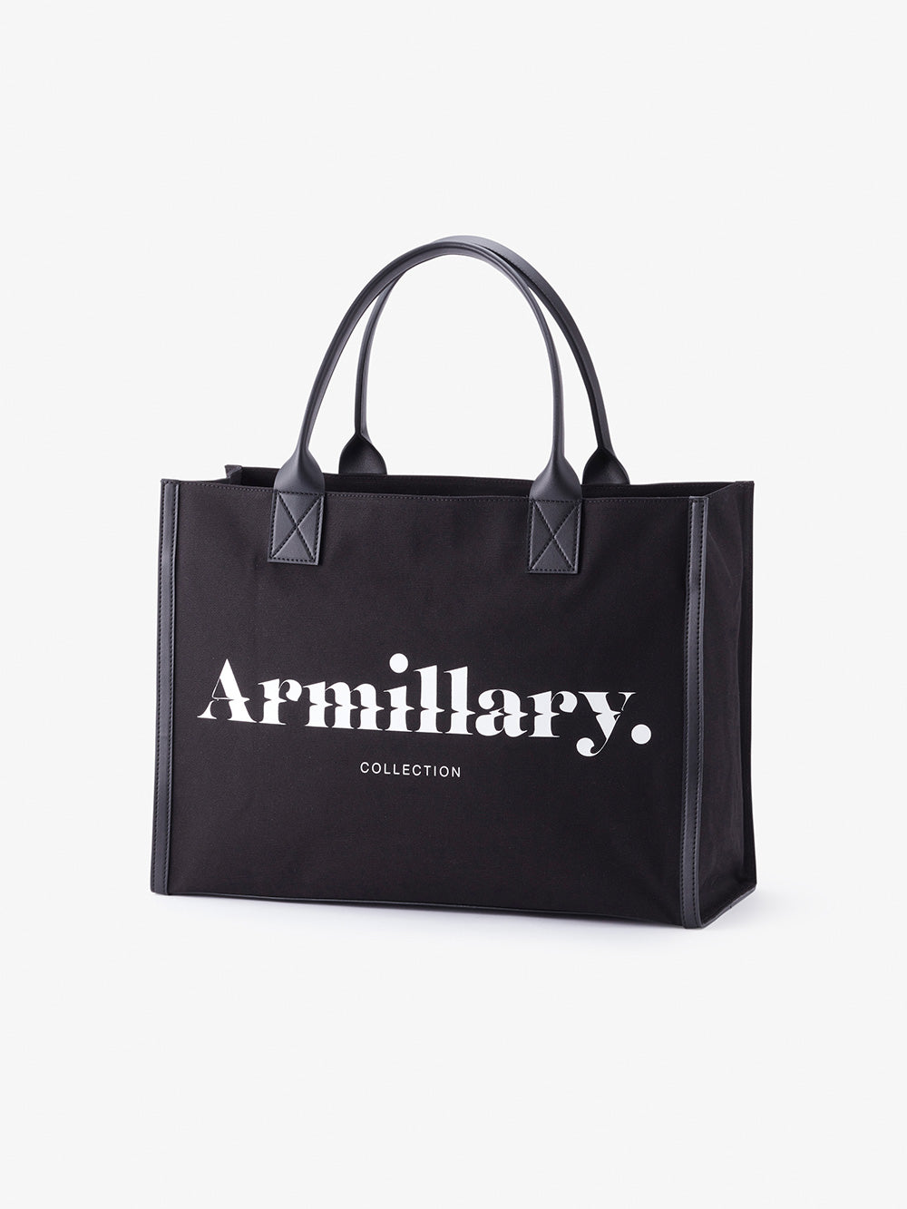 Armillary. CANVAS TOTE BAG<br>BLACK