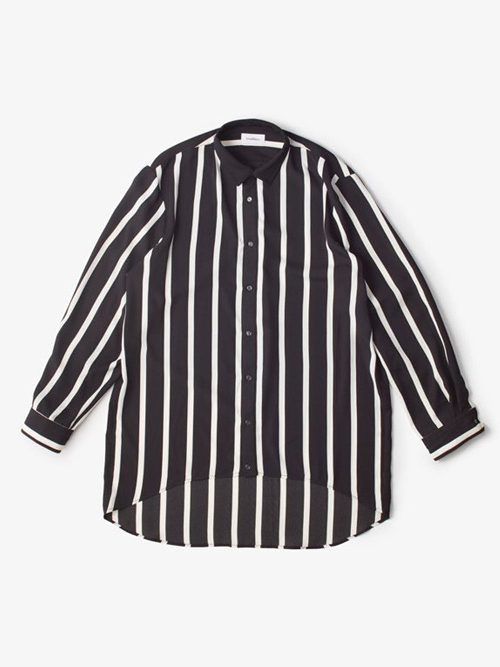 STRIPED MORNING CUT SHIRT