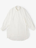 BALLOON SLEEVE MORNING CUT LONG SHIRT