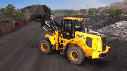 JCB 432 ZX Plus Bucket Without Teeth