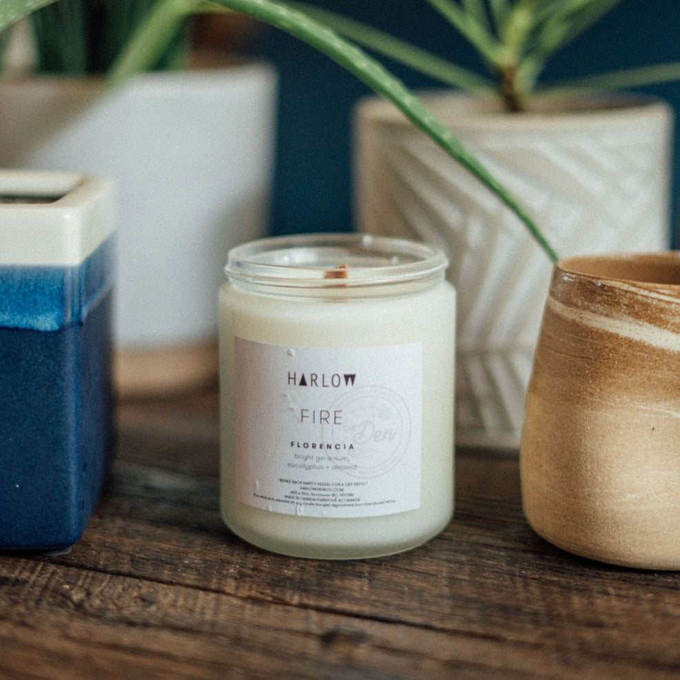 Florencia Candle - Harlow X The Den